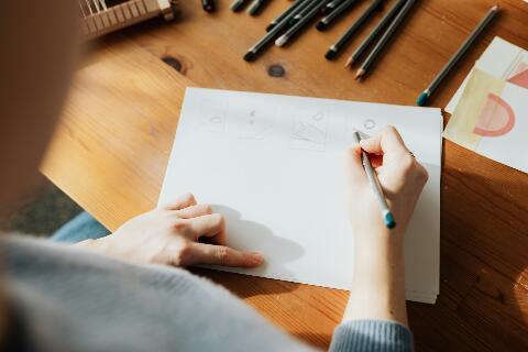 चित्र कैसे बनाते हैं